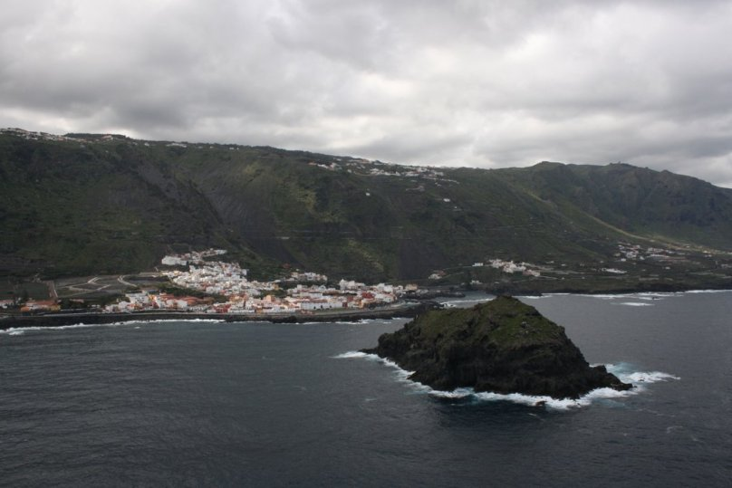 Rybárska dedina Garachico na severe ostrova