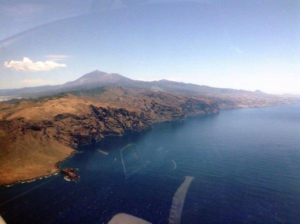 Druhý najvyššý útes v Európe: Costa Los Gigantes