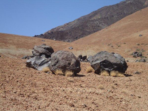 """Kamene """"Huevos del Teide"""""""