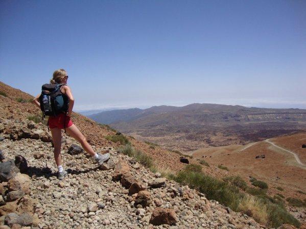 Vychutnajte si pekný výhľad na Národný park Teide