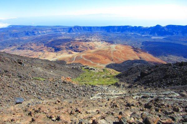 Výhľad na Národný park Teide