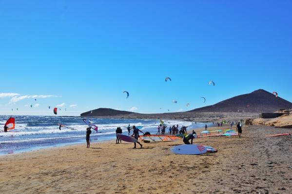 El Médano kitesurfing 🏄🏻
