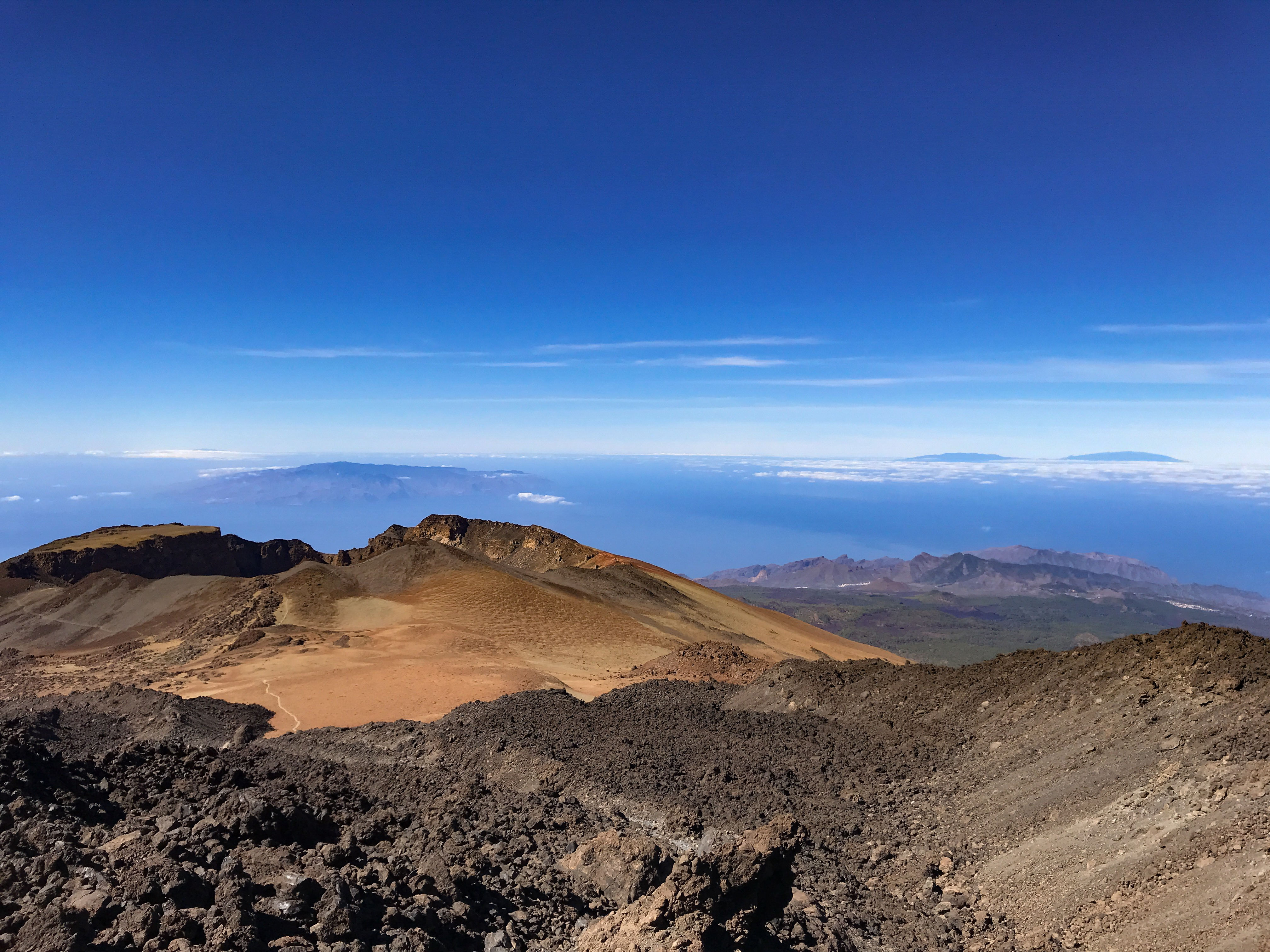 Kráter Pico Viejo, Tenerife