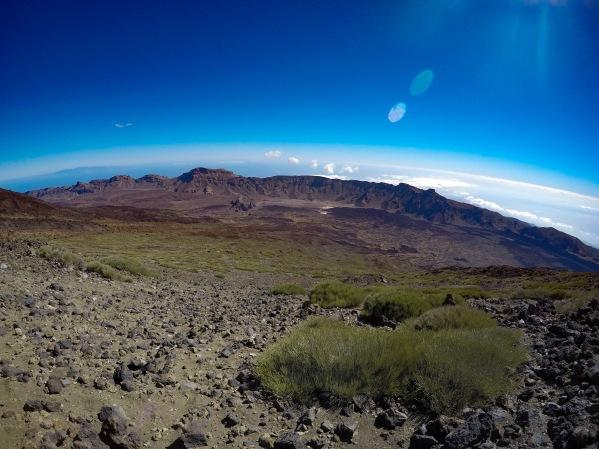 Pohľad na Národný park Teide