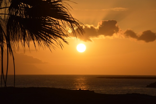 Západ slnka v Los Crsitianos